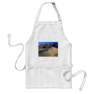 Sand Dunes Death Valley Adult Apron