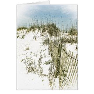 Sand Dunes Fence Card