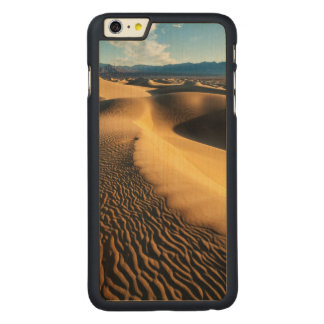 Sand dunes in Death Valley, CA Carved Maple iPhone 6 Plus Case