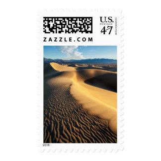Sand dunes in Death Valley, CA Postage