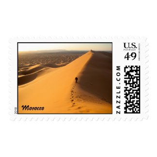 Sand Dunes in Morocco Postage