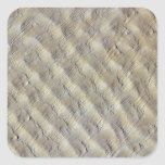 Sand dunes in the Fachi-Bilma erg Square Stickers