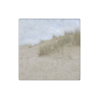 Sand Dunes Marble Stone Magnet