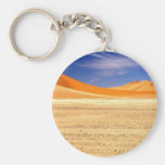 Sand dunes of Namibia Key Chain