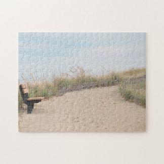 Sand dunes on Cape Cod Jigsaw Puzzle