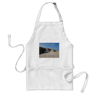 Sand Dunes Sea Oats Outer Banks NC Adult Apron