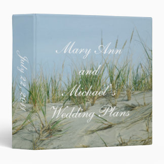 Sand Dunes Wedding Planner Binder