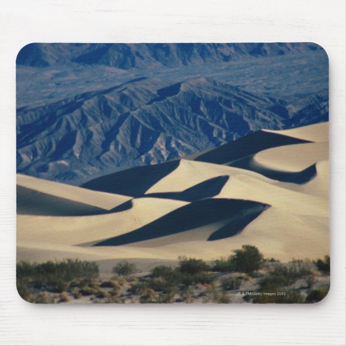 Sand dunes with shadows in Death Valley Mouse Pad