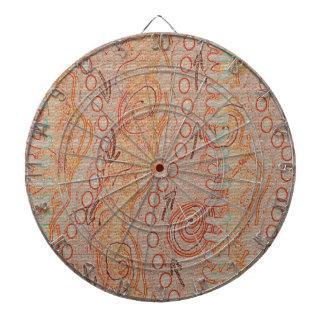 Sand Echoes Collection #1 Aboriginal Art Dart Board