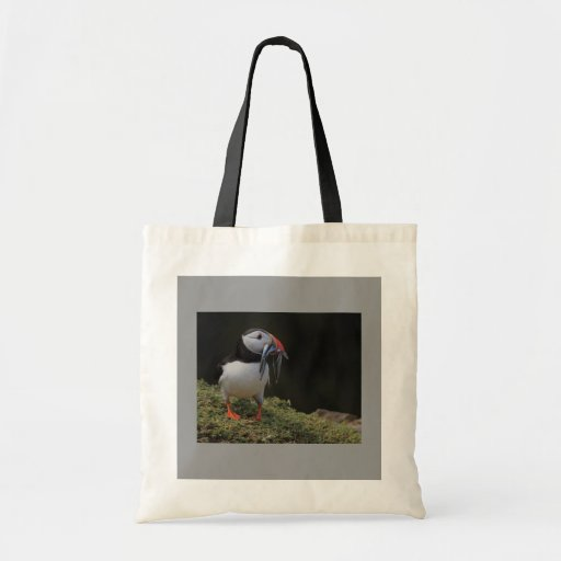 Sand Eel and Puffin Bag