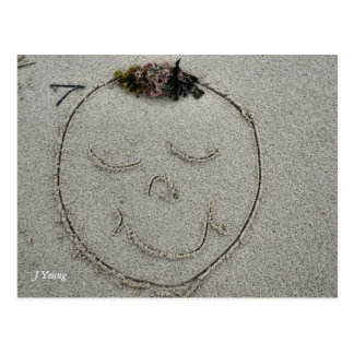 Sand Face Postcard