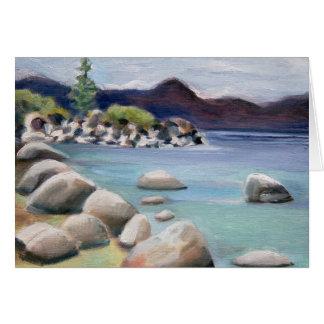 Sand Harbor Beach Card
