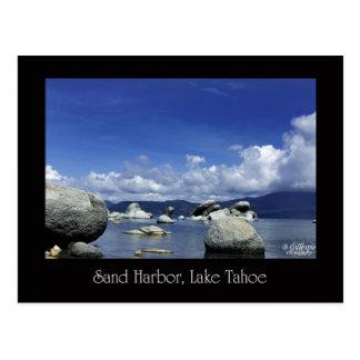 Sand Harbor, Lake Tahoe Postcard