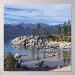 Sand Harbor Lake Tahoe Poster/Art