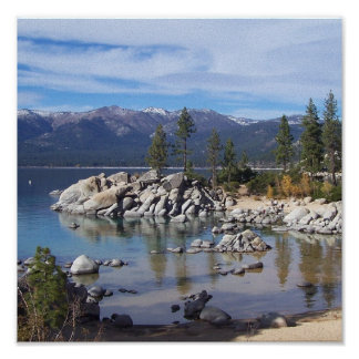 Sand Harbor Lake Tahoe Poster/Art Poster