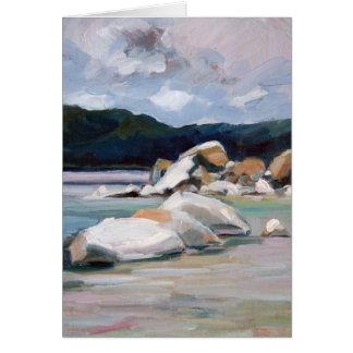 Sand Harbor Rocks 2 Card