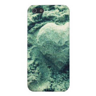 sand heart cover for iPhone SE/5/5s