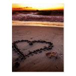 Sand Heart Postcards