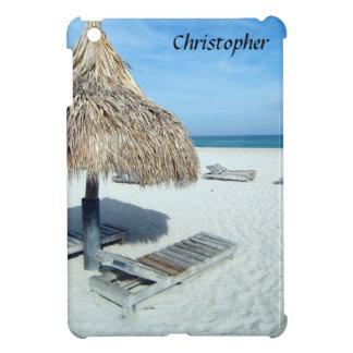 Sand Hearts on the Beach, Custom iPad Mini Covers
