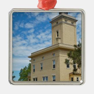 Sand Hills Lighthouse Metal Ornament