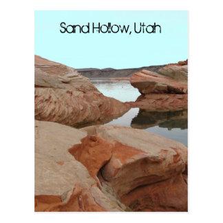 Sand Hollow, Utah Postcard