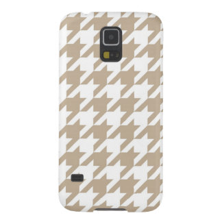 Sand Houndstooth Galaxy S5 Case