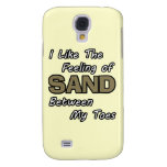 Sand in Toes iPhone 3 Case