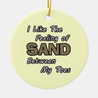 Sand in Toes Ornament