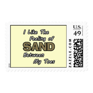 Sand in Toes Postage Stamps