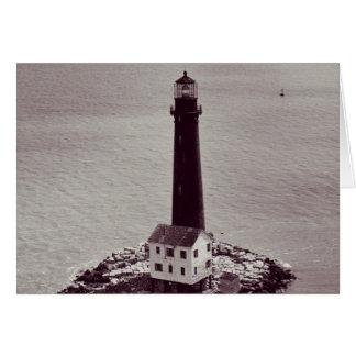 Sand Island Lighthouse Card