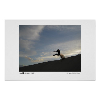 Sand Jumper - Photo of the Year Category Winner Posters
