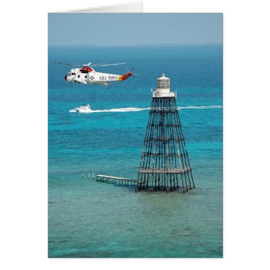 Sand Key Lighthouse Card