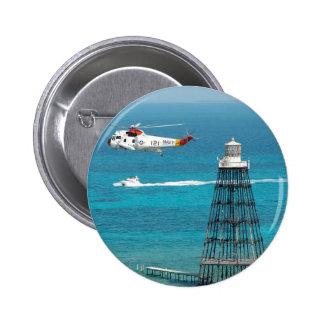 Sand Key Lighthouse Pinback Button