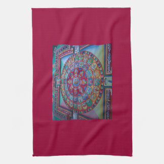 Sand Mantra for Happiness and Good Luck American M Towel
