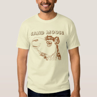 Sand Moose funny Camel shirt