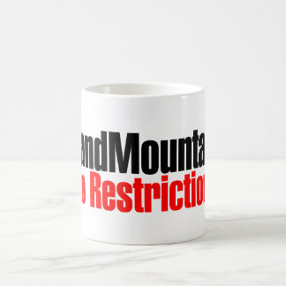 Sand Mountain No Restrictions Coffee Mugs