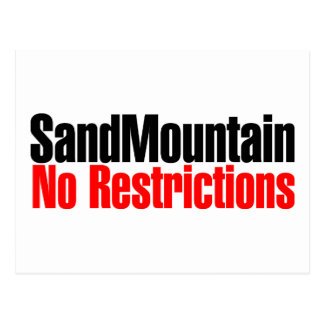 Sand Mountain No Restrictions Postcard