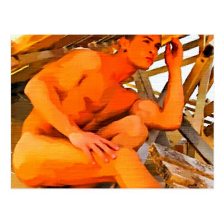 Sand n Wood Postcard