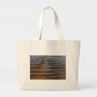 SAND ON BEACH QUEENSLAND AUSTRALIA LARGE TOTE BAG