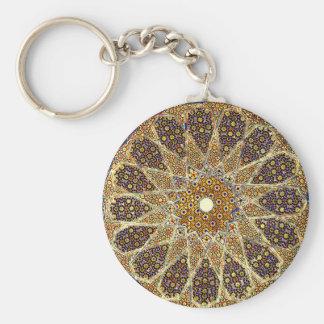 Sand Orient Magic Basic Round Button Keychain