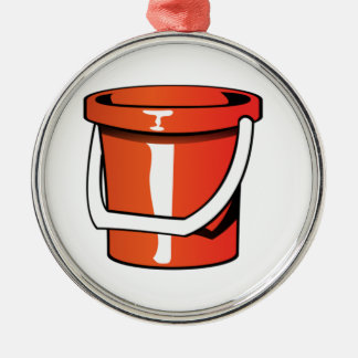 Sand Pail Bucket Christmas Ornament