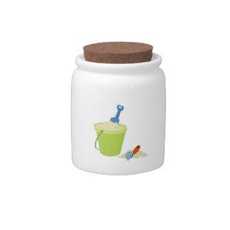 Sand Pail Candy Jar