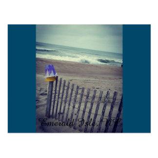 Sand Pails at the Beach Postcard