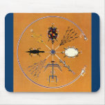 Sand Painting Native American Tribal Mouse Pad