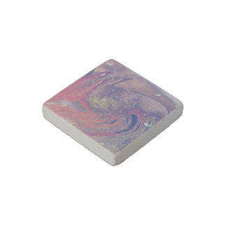 sand painting stone magnet
