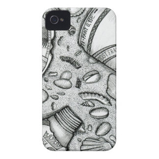 sand , party, beach , beer , sea shells Case-Mate iPhone 4 case
