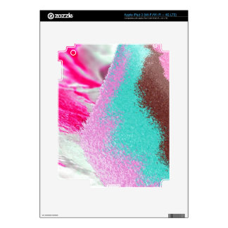 sand, pink, brown iPad 3 skin