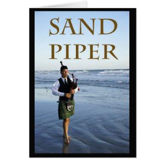 Sand Piper Card
