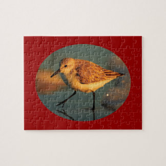 sand piper jigsaw puzzle