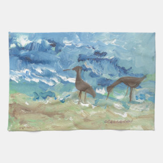 Sand piper towels